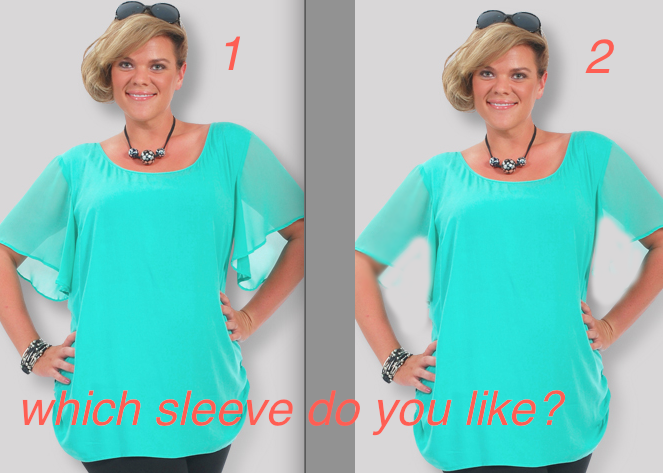 Plus Size Tops: How to Choose the Right Sleeve | Generous Fashions ...