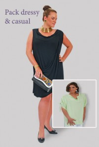 Lightweight and Casual Plus Size Clothing