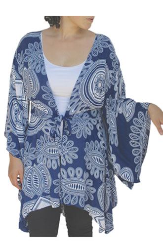 Plus Size Tops with Kimono Sleeves