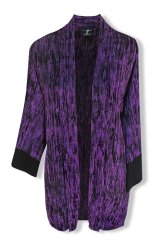 Oversized Cardigan Purple