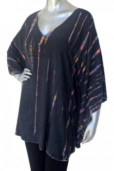 Rainbow Caftan Top