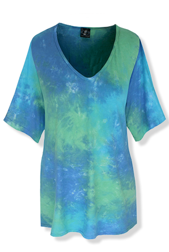Tie Dye Top - Click Image to Close