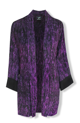 Oversized Cardigan Purple - Click Image to Close