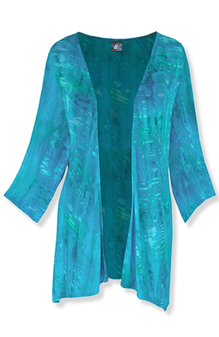 Hand Dyed Cardigan - Click Image to Close