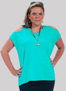 Plus Size Jersey Top
