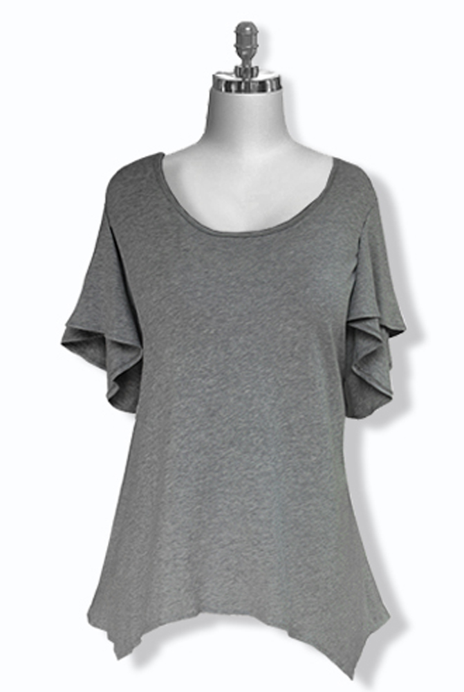 Plus Size Women's Cotton Top