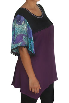 Plus Size Women's Tunic Top