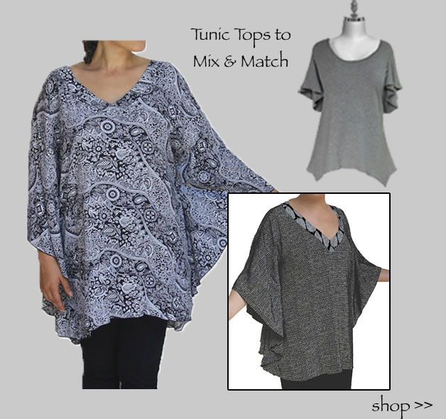 Women's Plus Size Tunics